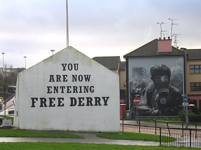 Free Derry Mural, Derry
